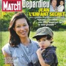 Gérard Depardieu and Helene Bizot (jewelery Designer) - Paris Match Magazine Cover [France] (31 July 2008)