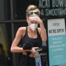 Charlotte McKinney – Looks sporty while out in Los Angeles