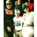 Blac Chyna and Amber Rose at Their BAE Watch Event in Trinidad and Tobago - February 10, 2016 - 454 x 454