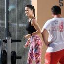 Adriana Lima – Victoria's Secret Sport Photoshoot in Miami, October 2016