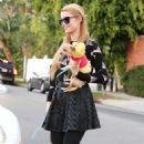 Paris Hilton Street Style Out In La