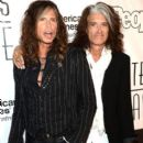 Aerosmith attends The Songwriters Hall Of Fame 44th annual Induction at the NY Marriott Marquis on June 13, 2013