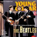 George Harrison, Paul McCartney, John Lennon - Young Guitar Magazine Cover [Japan] (December 2015)