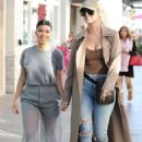 Khloe and Kourtney Kardashian – Filming KUWTK in Canoga Park