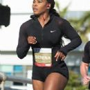 Serena Williams At Serena Williams Ultimate Run In South Beach