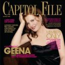 Geena Davis - Capitol File Magazine Cover [United States] (December 2005)
