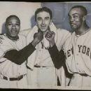 Hank  Thompson,  Sal Maglie & Monte Irvin