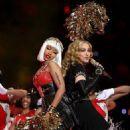 Madonna's halftime show at Super Bowl XLVI (February 5).