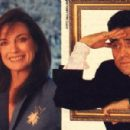 Linda Gray and Ian McShane