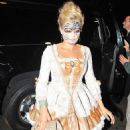 Kate Upton attends a costume party in Beverly Hills, Calif., on Oct. 26, 2013