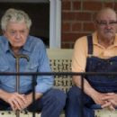 Hal Holbrook as 'Abner' and Barry Corbin as 'Thurl' in THAT EVENING SUN, directed by Scott Teems. Photo credit: Cooper Dunn