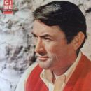 Gregory Peck - Cine Tele Revue Magazine Pictorial [France] (29 July 1960) - 454 x 617