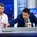 Gerard Butler-February 11, 2016-Gerard Butler Attends 'El Hormiguero' Tv Show