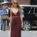 Rebecca Rittenhouse – Arrives at AOL Build in New York - 454 x 650