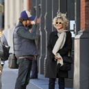 Meg Ryan and her son Jack Quaid out and about in New York City on October 04, 2015 - 414 x 600