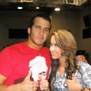 Trent Barreta and AJ Lee