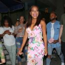 Christina Milian at Catch restaurant in West Hollywood - 454 x 681
