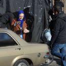 Dakota Fanning – Filming 'Sweetness in the Belly' in Dublin - 454 x 350