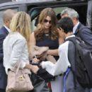 Ashley Greene Arrives In Venice