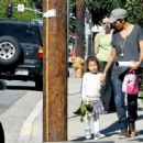Halle Berry Picks Up Nahla at School