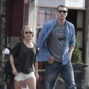 Hayden Panettiere & Wladimir Klitschko out in West Hollywood - January 1, 2011