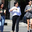 Selena Gomez – Leaves Alfred in Studio City