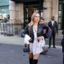 Kimberley Garner – Arrives at the Giorgio Armani Show in Milan