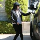 Kourtney Kardashian: takes her children Reign & Penelope to a music class in Beverly Hills