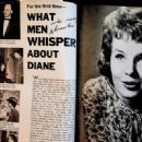 Diane Varsi - Movie Life Magazine Pictorial [United States] (August 1958) - 454 x 329