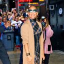 Jennifer Lopez is seen arriving at Good Morning America