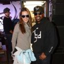 Alessandra Ambrosio: snowboards with professional team rider Danny Kass at the Oakley Learn To Ride In Collaboration With New Era in Park City