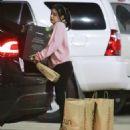 Ariel Winter Wearing a Santa Sweater – Arrives for a Yoga Class in LA