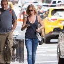 Emily VanCamp in Jeans out in New York City - August 23, 2016 - 454 x 620