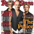 The Police, Sting - Rolling Stone Magazine Cover [Brazil] (November 2007)