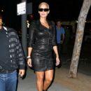 Amber Rose and Drake Leaving Voyeur Nightclub in Philadelphia, Pennsylvania - September 11, 2010 - 454 x 644