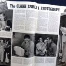 Clark Gable - Screen Guide Magazine Pictorial [United States] (October 1940) - 454 x 310