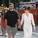 Jessica Biel and Justin Timberlake on a walk in New York City