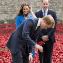 British Royals Visit the Tower of London (August 5, 2014)