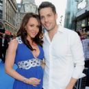 Hugh Hanley and Michelle Heaton - 454 x 491