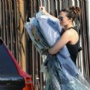 Mandy Moore in Tights – Picks up her dry cleaning in LA - 454 x 466