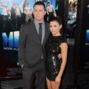 Jenna Dewan-Tatum arrive at the premiere of Warner Bros. Pictures'