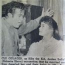 Clu Gulager - Plain Dealer Saturday TV Week Magazine Pictorial [United States] (28 April 1962)