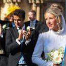 Ellie Goulding at her wedding to to Caspar Jopling in York - 454 x 324