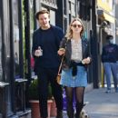Saoirse Ronan and Jack Lowden – Out for a stroll and breakfast in London - 454 x 539