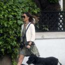 Pippa Middleton – Walking her dogs in London - 454 x 653