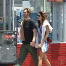 Susie Abromeit and Andrew Garfield – Out in Los Angeles