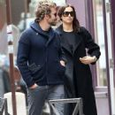 Bradley Cooper and Irina Shayk silence break-up rumours as they enjoy romantic stroll in Paris... days after he enjoyed breakfast date with Naomi Campbell
