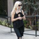 Ashlee Simpson – Leaving a hair salon in West Hollywood - 454 x 681