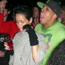 Rihanna Fenty and Chris Brown