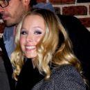Kristen Bell - Outside Letterman, 18 January 2010